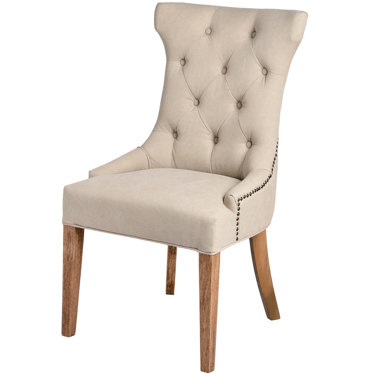 High Wing Ring Backed Dining Chair (PRE-ORDER)