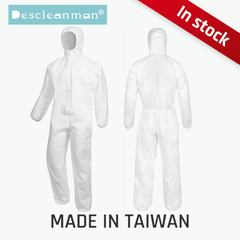 Descleanman® Protective Coverall【 Made in Taiwan 】