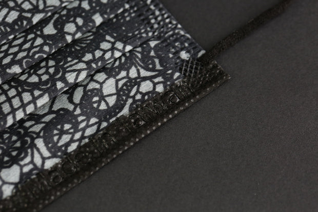 MiTenxin Lace Black 30pcs【MADE IN TAIWAN】