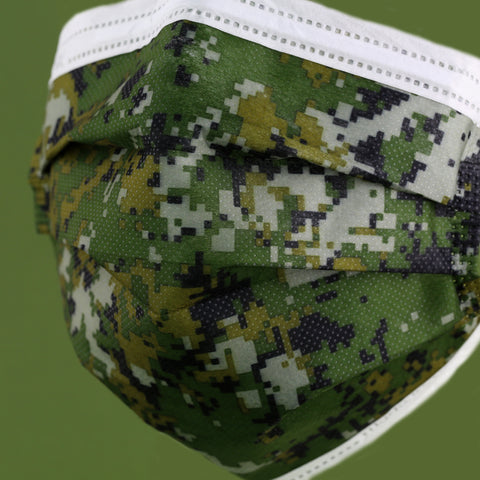 Camouflage DRX Taiwan 30pcs CNS14774 | FDA【MADE IN TAIWAN】