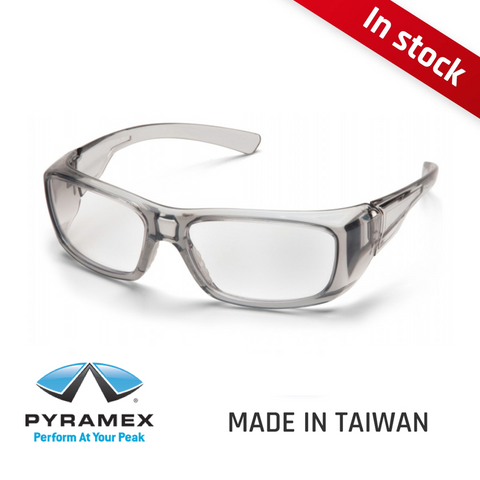Pyramex Emerge® Translucent Gray Frame | Made in Taiwan
