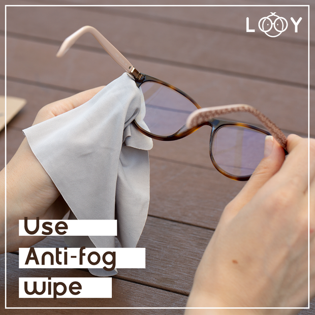 Anti-fog Microfiber for Glasses / Goggles【 Made in Korea 】