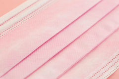 Cherry Blossom Pink, EN14683 Type IIR | ASTM Level 3 (50 pcs)【 Made in HongKong 】