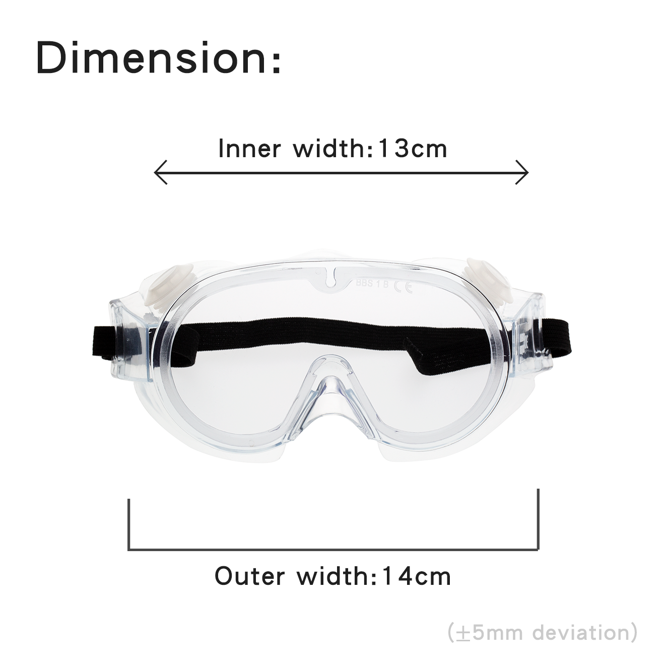 Full Protective Splash Goggles for Child KF01