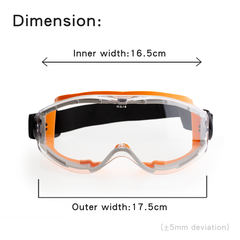Protective Splash Anti-Fog Goggles S02【 Made in Taiwan 】