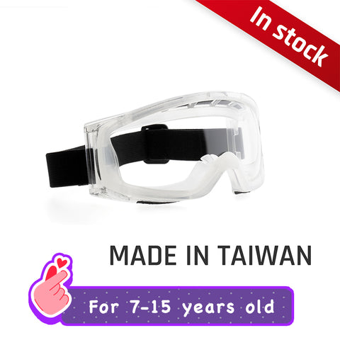 Protective Splash Anti-Fog Goggles for early teens TS01【 Made in Taiwan 】