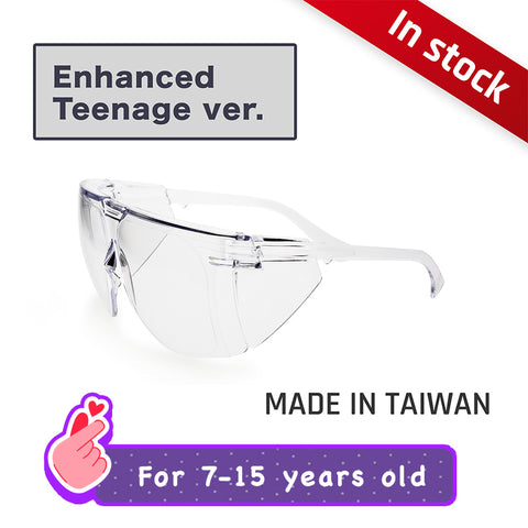 Anti-fog Enhanced Protective Splash Eyewear (for early teens) TL04【 Made in Taiwan 】