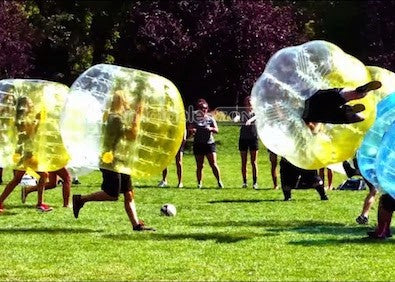 10 Wholesale price bubble soccer ball,bumper ball with 1 free pump for sale