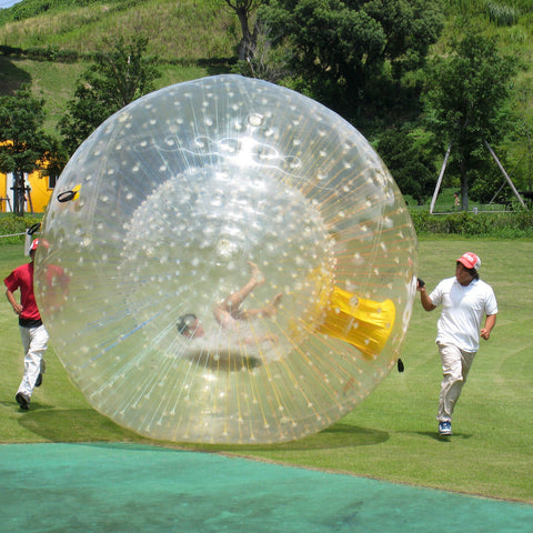 Free Shipping, Yellow Outdoor Zorbs