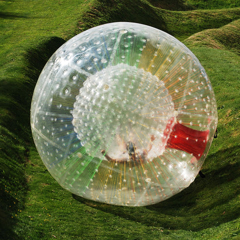 Red Entrance Colorful String Human Hamster Ball