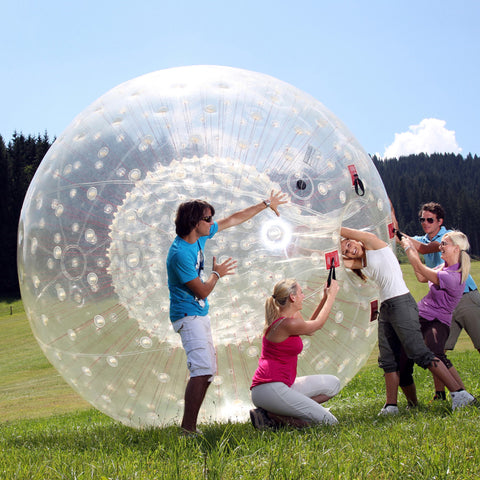 New Design Clear Zorbing Red String Outdoor