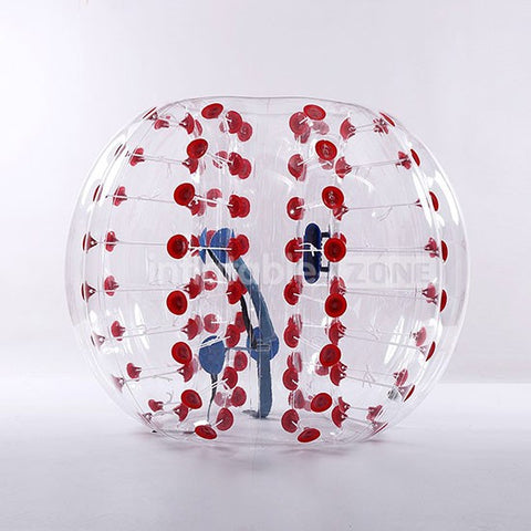 Free Shipping 1.5m Bubble Soccer Bubbles, Body Zorb Ball, Zorb Football, Bubble Balls - red dot