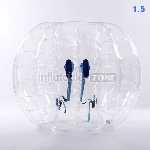 Free Shipping 1.5m Bubble Soccer Bubbles, bumper ball, human hamster ball, bubble football - Clear