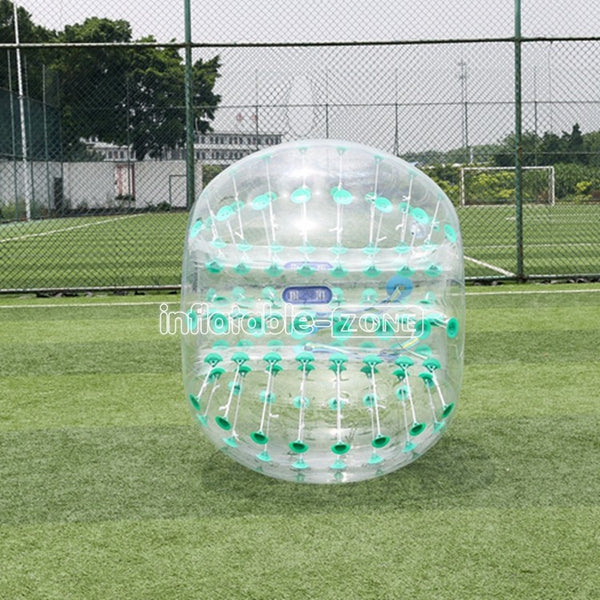 Free Shipping 1.5m bubble soccer dallas messi bubble ball,foot buble-green dot