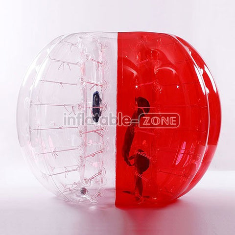 Free Shipping 1.5m Inflatable Bumper Balls, Bumper all, Inflatable Ball Suit,Loopy Ball- half red