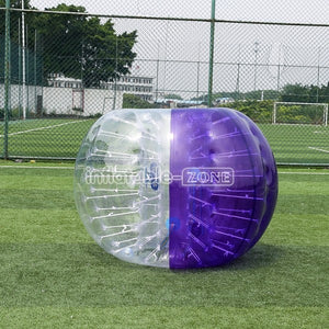 Free Shipping 1.5m Purple Color Funny Zorb Ball Bubble Soccer for Sale