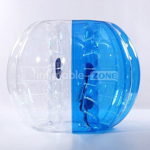 Free Shipping 1.5m Zorb Soccer,Body Zorb Ball,Human Hamster Ball,Loopy Ball- half blue