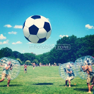 Free Shipping,10 pcs 1.5m dia Bubble Soccer,1 Big Bubble Ball, 1 Free Pump