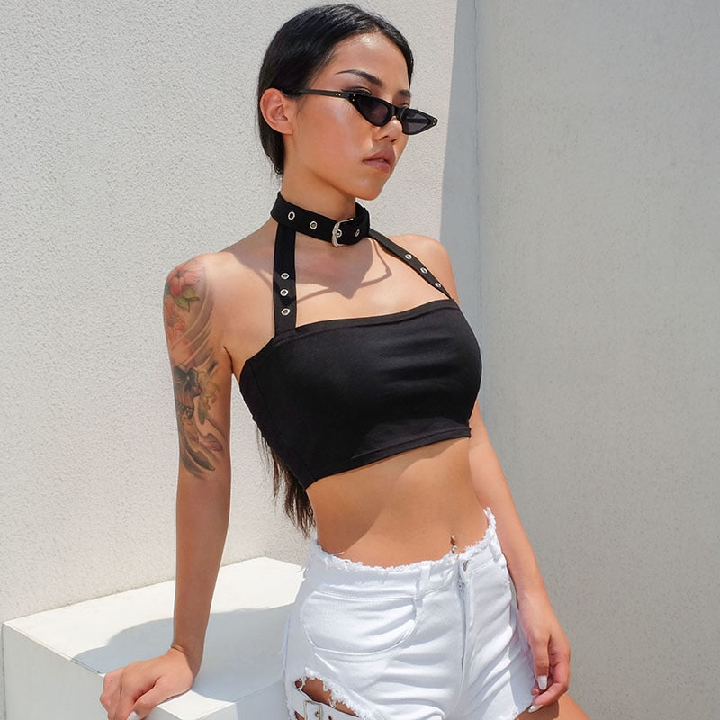 Choker Crop Top