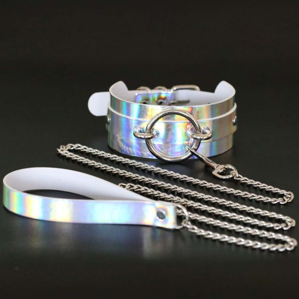 Holo Choker & Leash