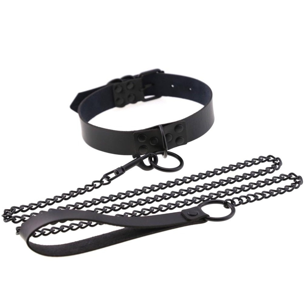 O-Ring Choker & Leash