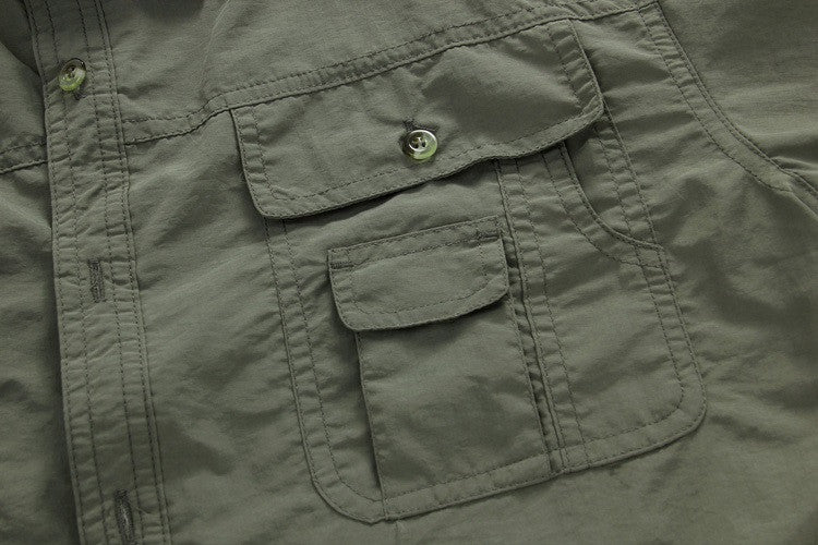 MountainSkin Quick-Dry Outdoor Mens Shirts