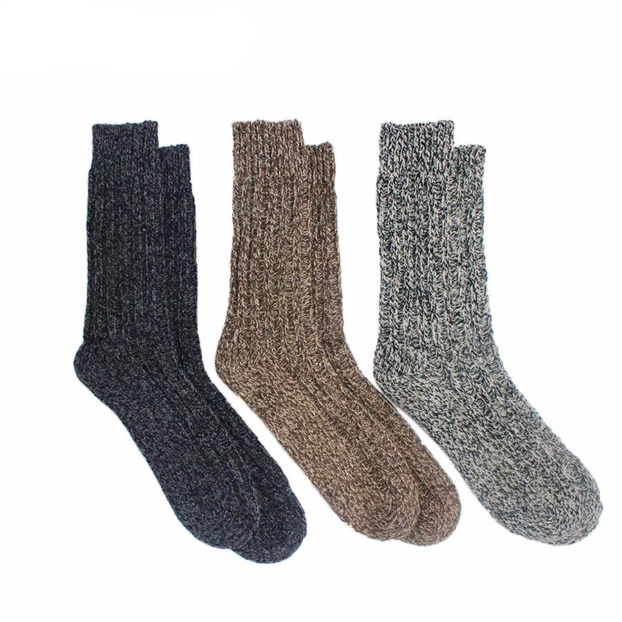 Men's and Women's Merino Wool Hiking Socks (3 Pack)