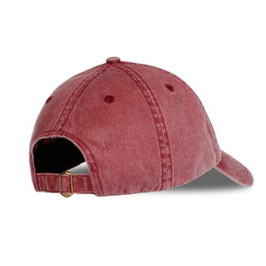 Cotton Washed Embroidered Hat