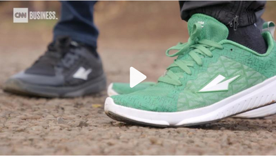 CNN: The running shoe that's changing lives
