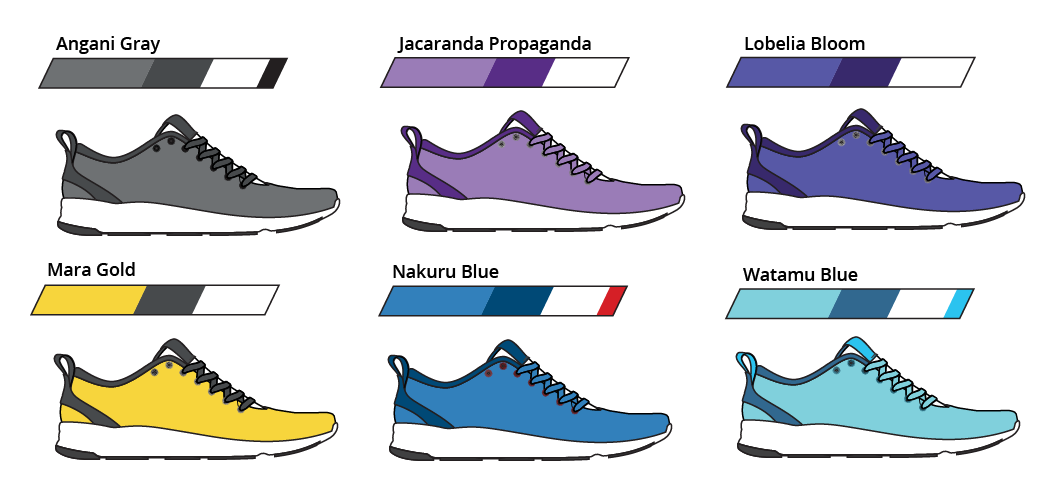 Shoe Colors