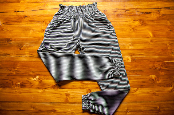Stripped running joggers