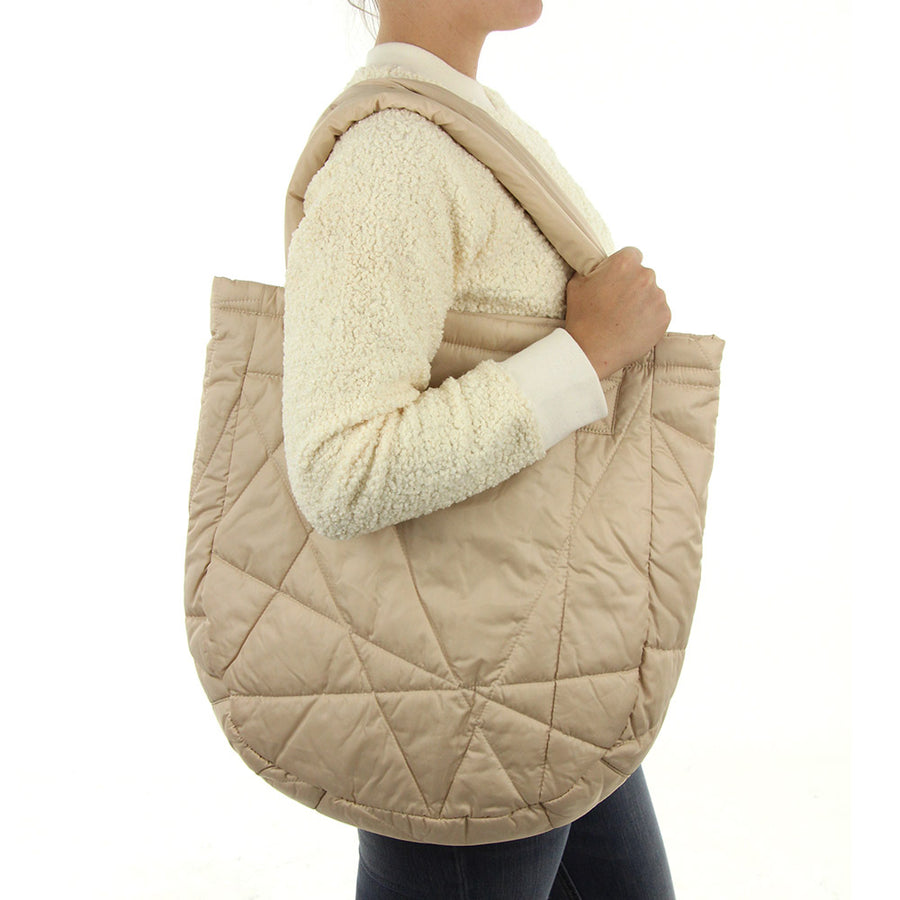 Lucy Tote Bag/Camel Whey
