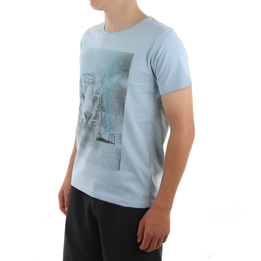 Safely Boy's Tee/Baby Blue