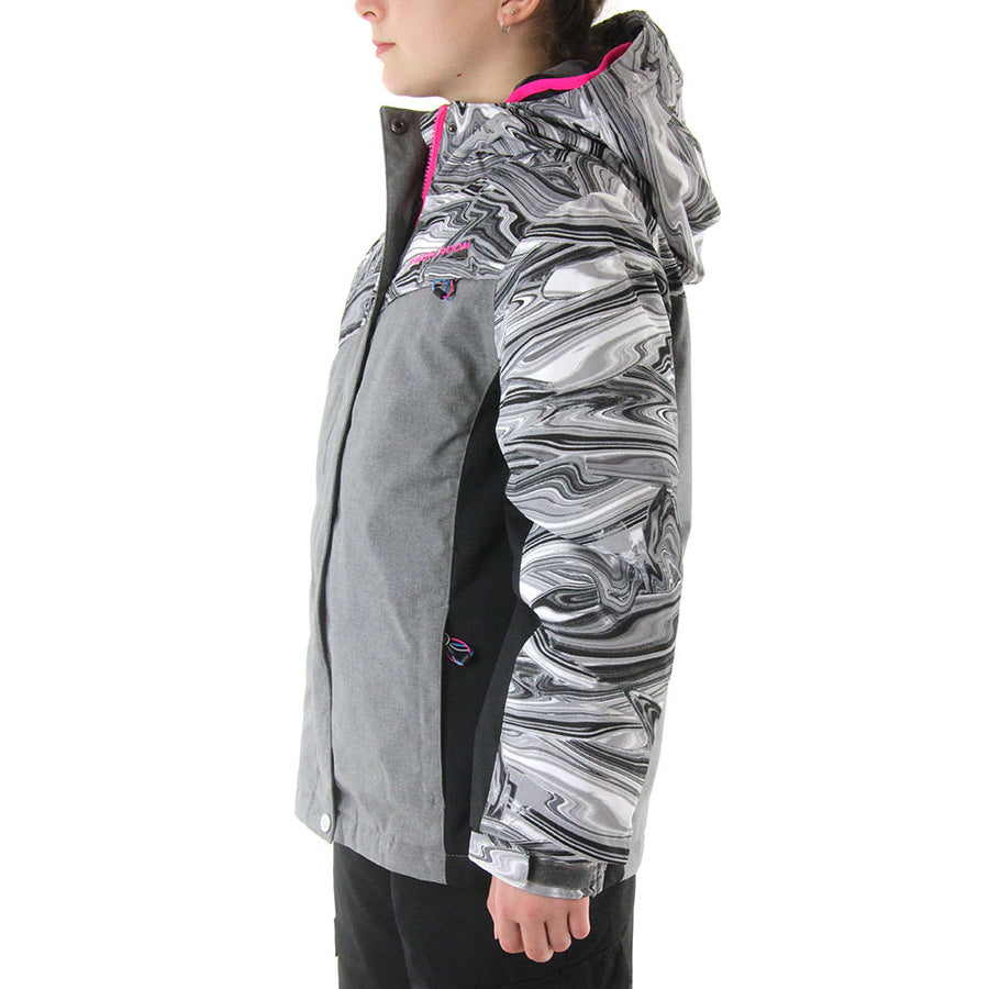 PARIS INSULATED 3 IN 1 - Grey Melange