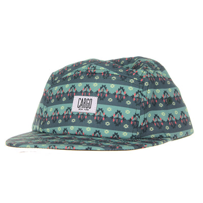 Old School 5 Panel/Teal