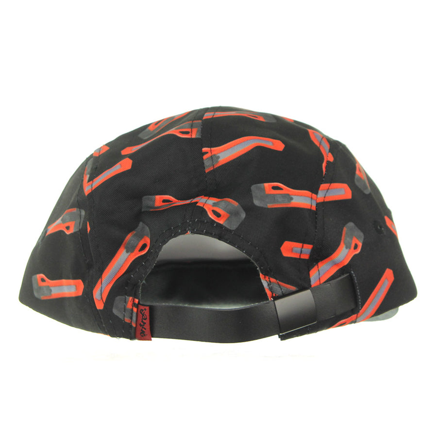 Graze 5 Panel Cap/Black