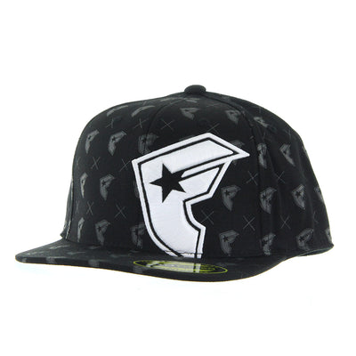 Foundation Cap/Black/White - BLCK