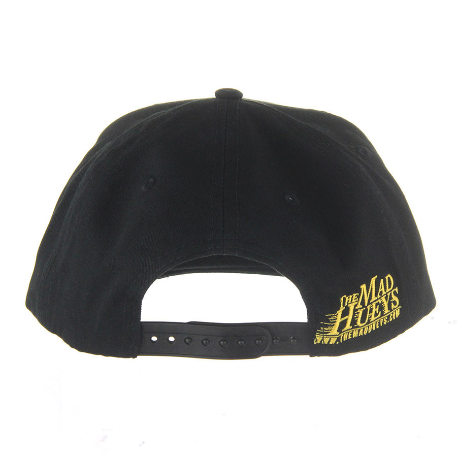Captain Crest Snapback/Black
