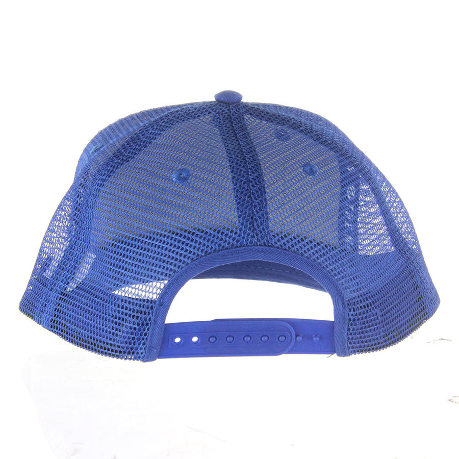 Bait And Tackle Trucker Hats/Blue