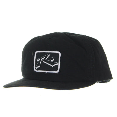 Drop Snapback Cap/Black