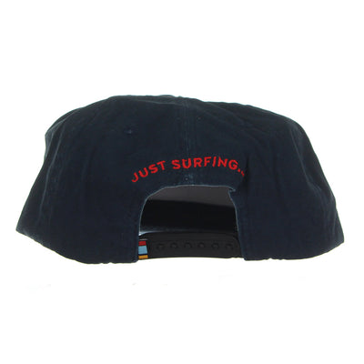 Drop Snapback Cap/Navy Blue