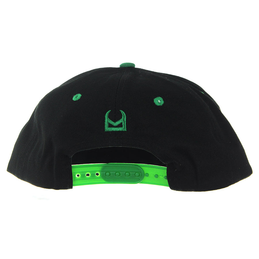 Highlife Snapback/Black/Green