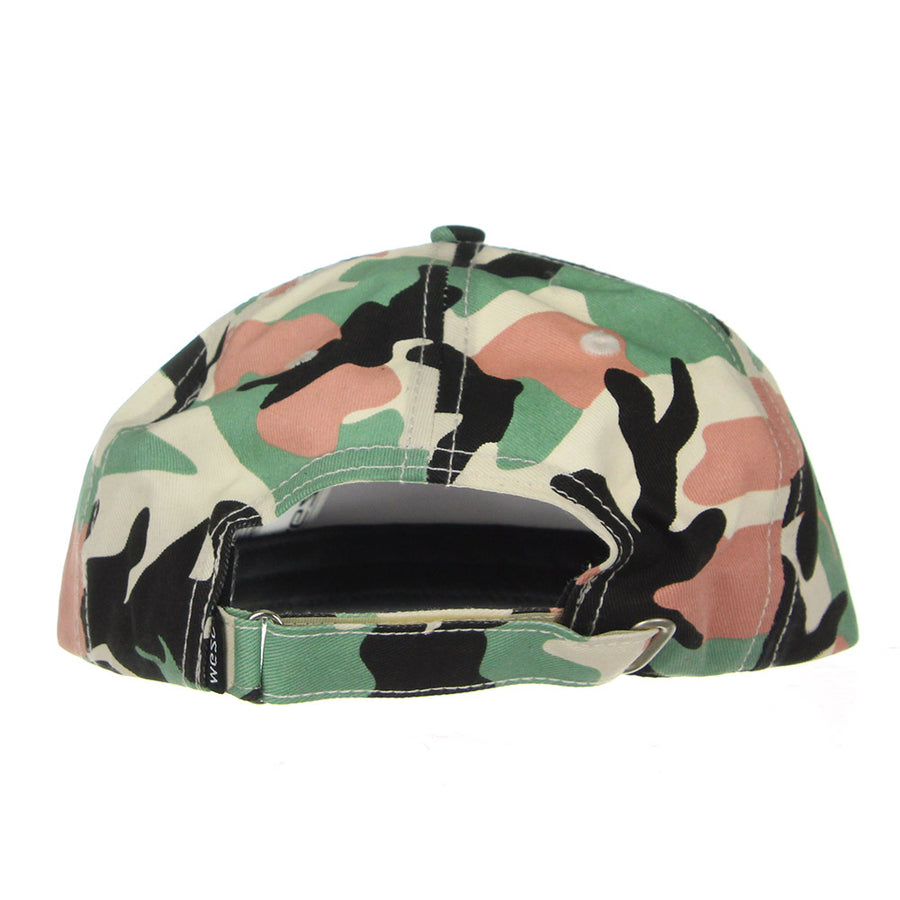 Palm Strapback Cap/Granite Green