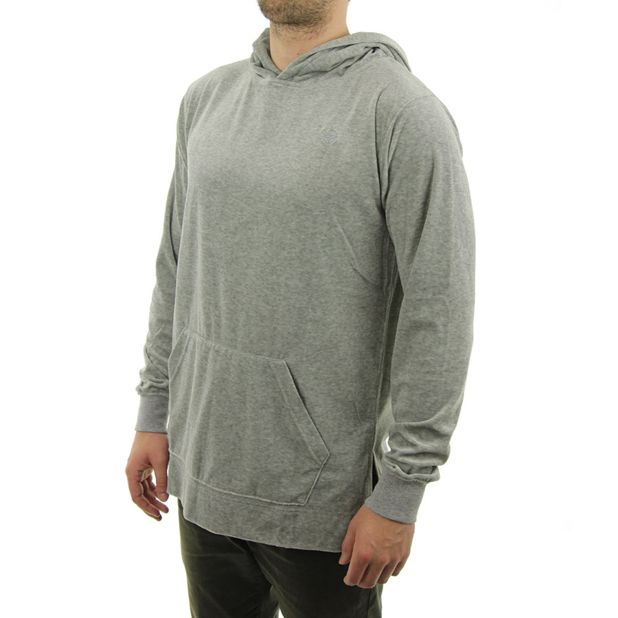 Terry Cloth Hoodie/Grey