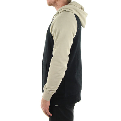 Core Icon Zip Hoodie/Natural