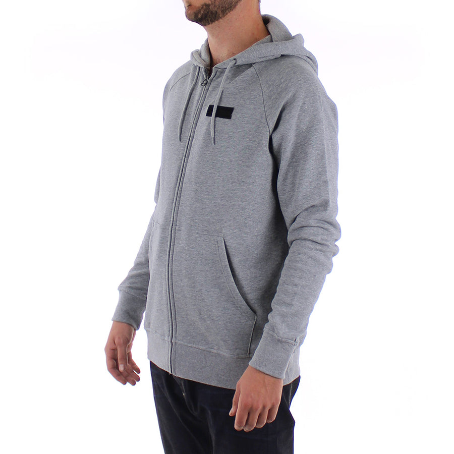 Core Icon Zip Hoodie/Grey