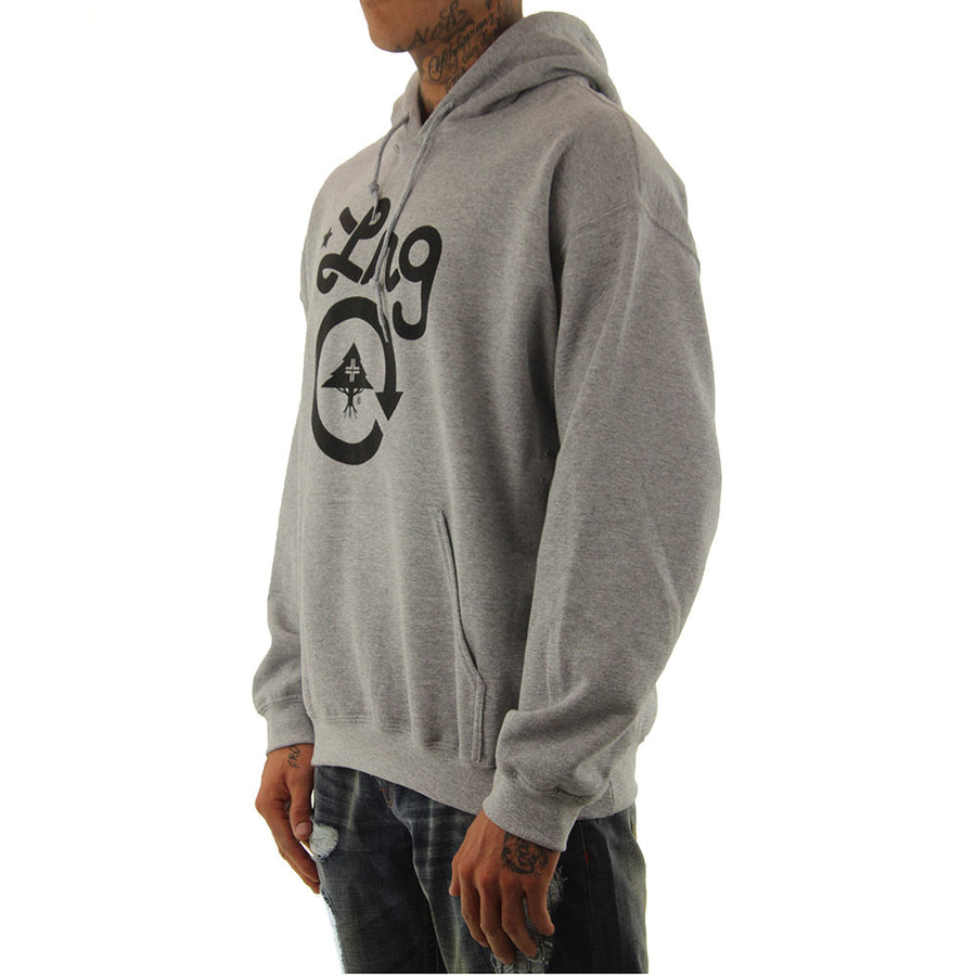 CC One Pullover - Ash Heather/Black