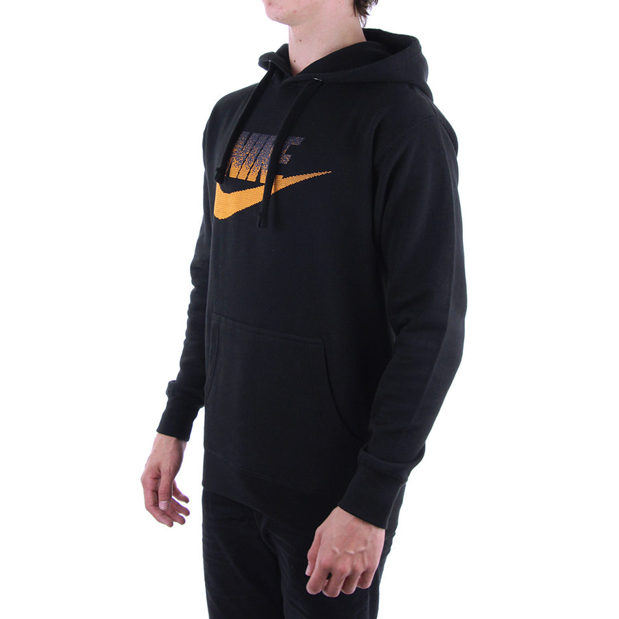 nike Logo Hoodie/Black/Orange
