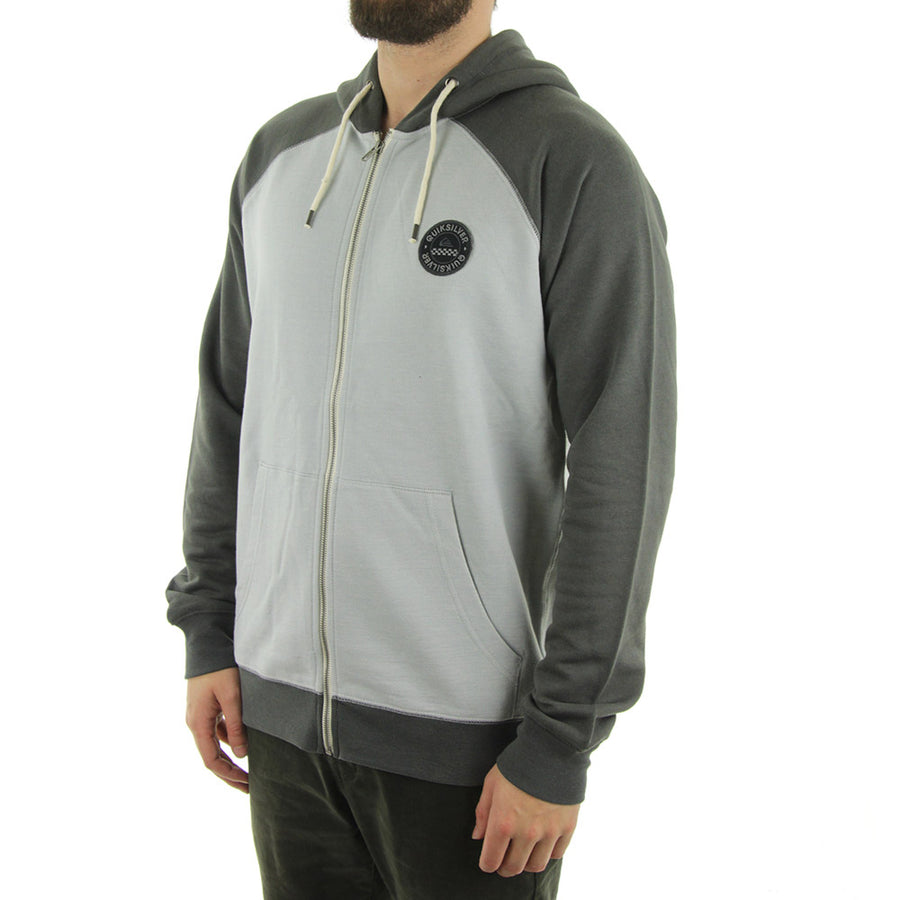 Major Raglan Hoodie/Grey Heather