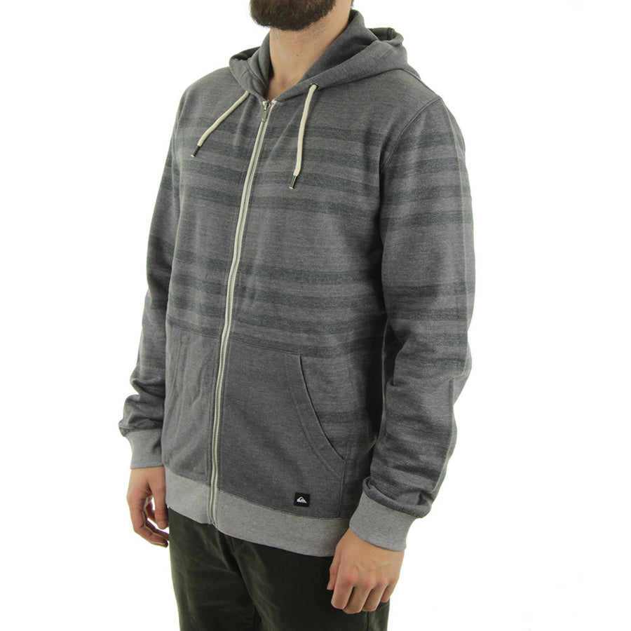 Major Stripes Hoodie/Medium Grey Heather/Gun Smoke
